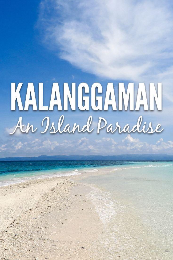Kalanggaman Island is a little speck of land in the Philippines, province of Leyte. It features a long gorgeous sandbar, crystal clear water and lush coconut palm trees! It's one of the most beautiful places I've seen in my life.