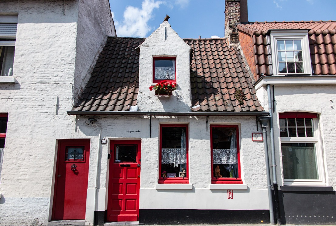 A cute home in Bruges, Belgium