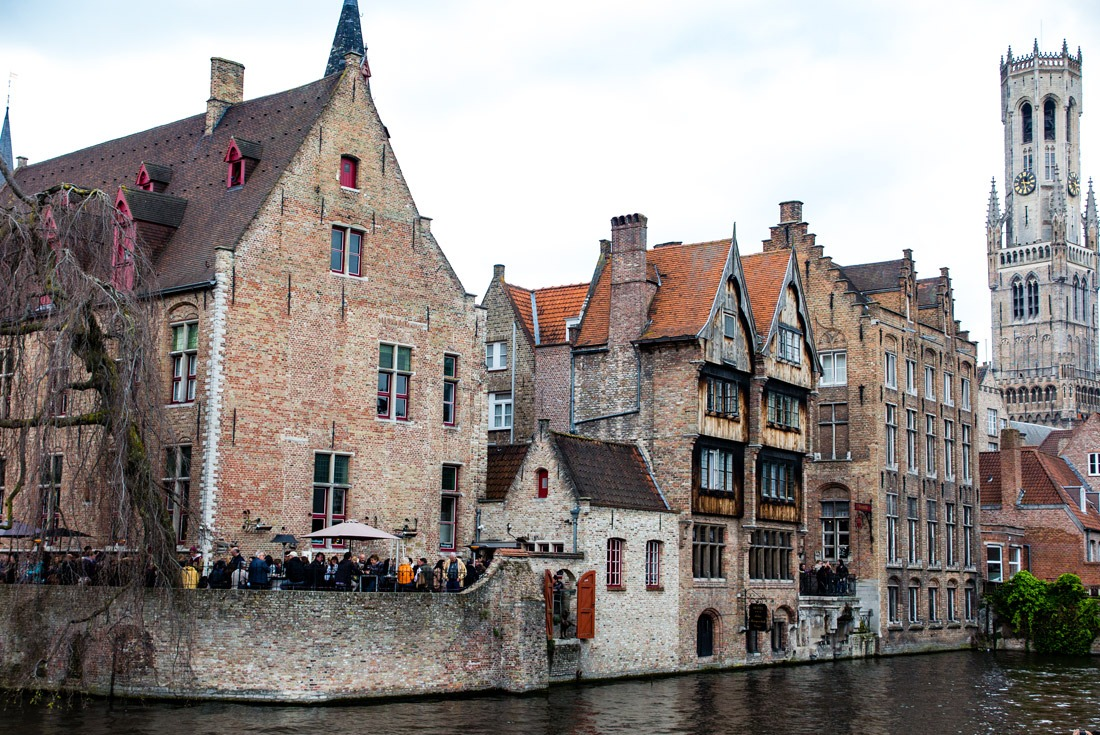 The houses lining the canals in Bruges are more than pretty...