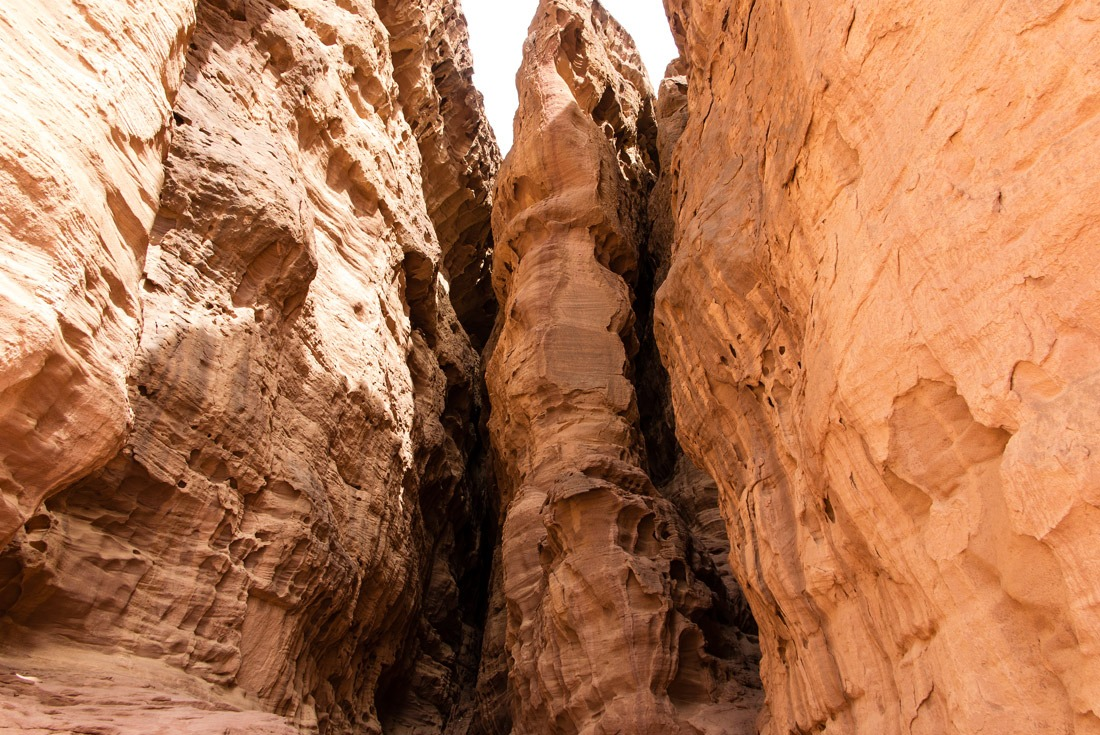 This is what's hiding behind the King Solomon's Pillars, Timna NP