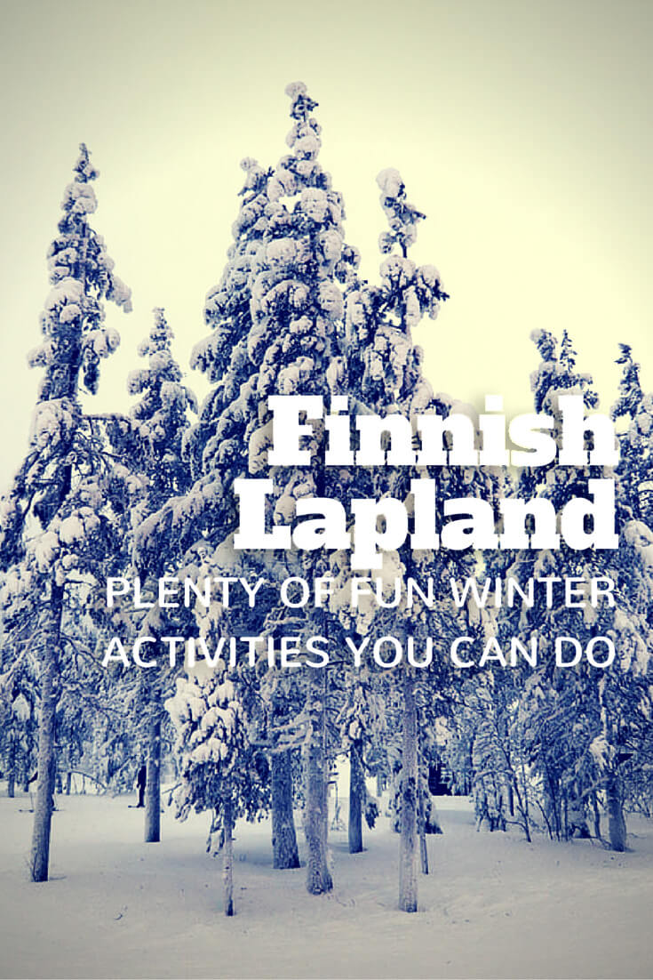 Why the best time to visit Finnish Lapland is Winter? There are plenty of unique & fun winter activities, plus the landscapes are too serene for words. Explore the Finnish fairytale with me. #finland #lapland #winter #adventure