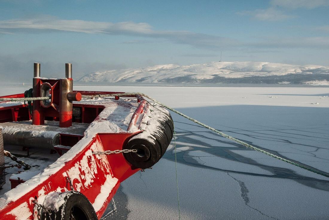 Icebreaker cruise in Kemi Finland Lapland