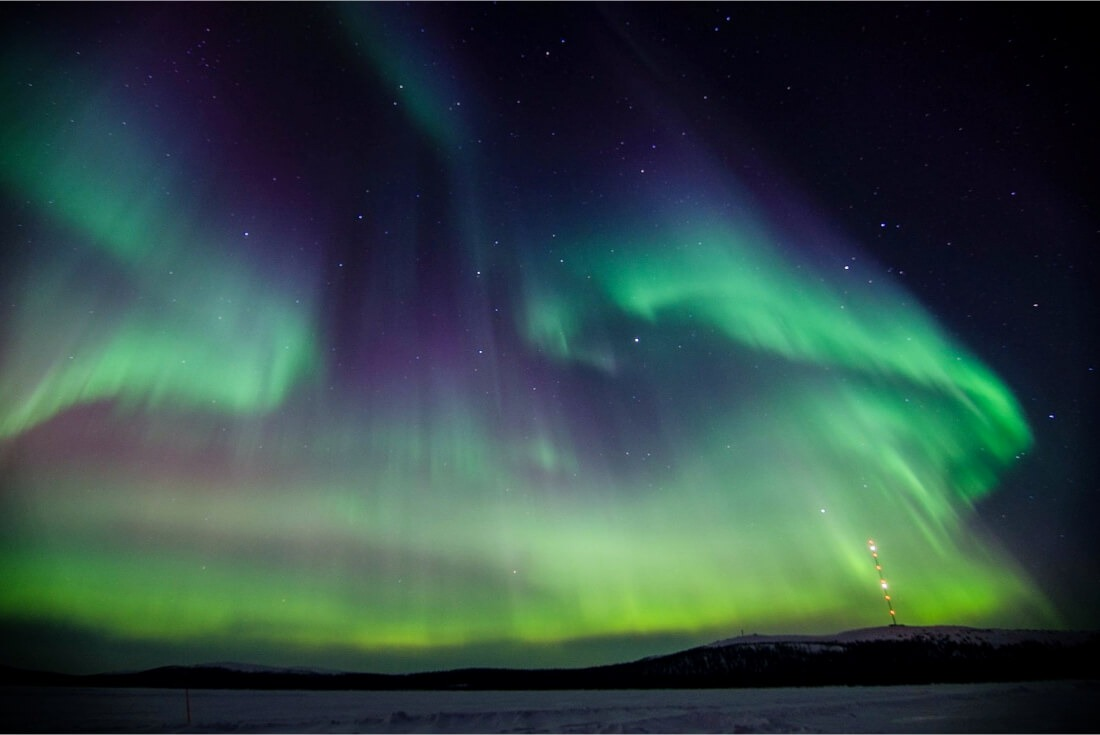 Visit Finland for Northern Lights!