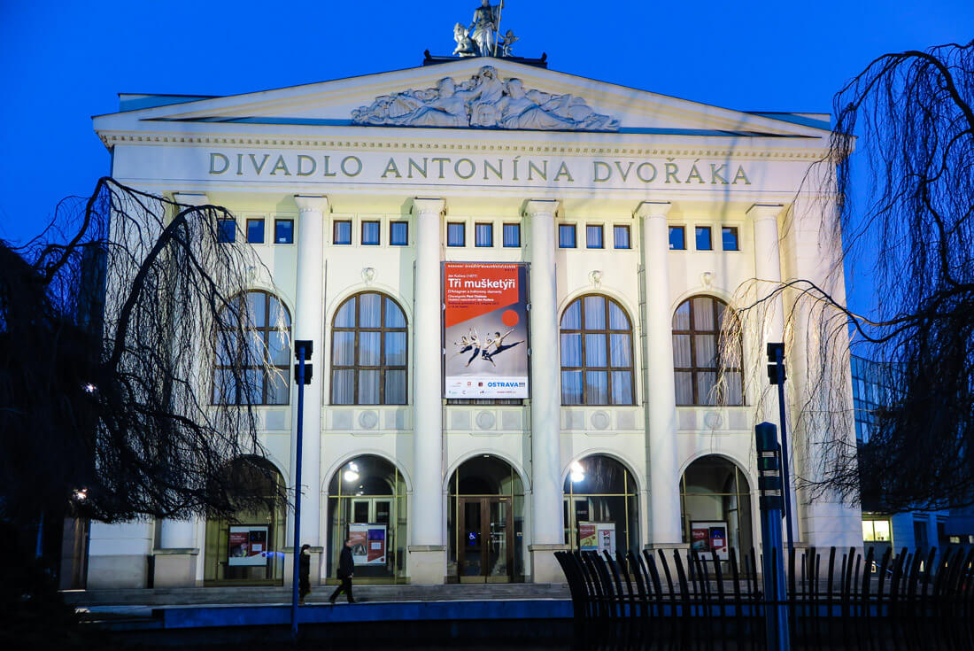 The main theatre in Ostrava: Antonin Dvorak's Theatre