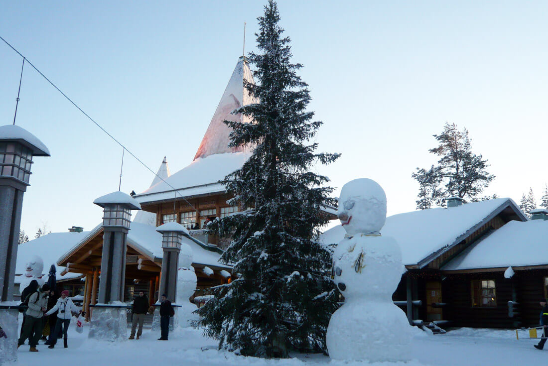 Rovaniemi things to do: Visiting the Santa Claus Village