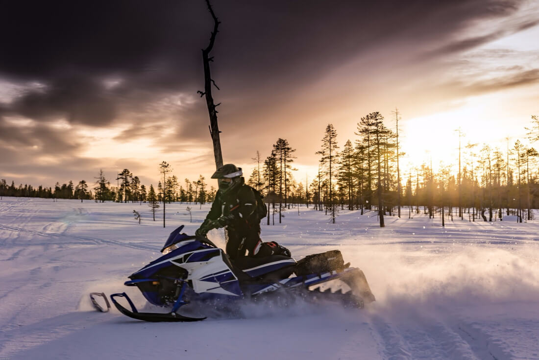 Things to do in Lapland, Finland: Riding a snowmobile can't be missed!