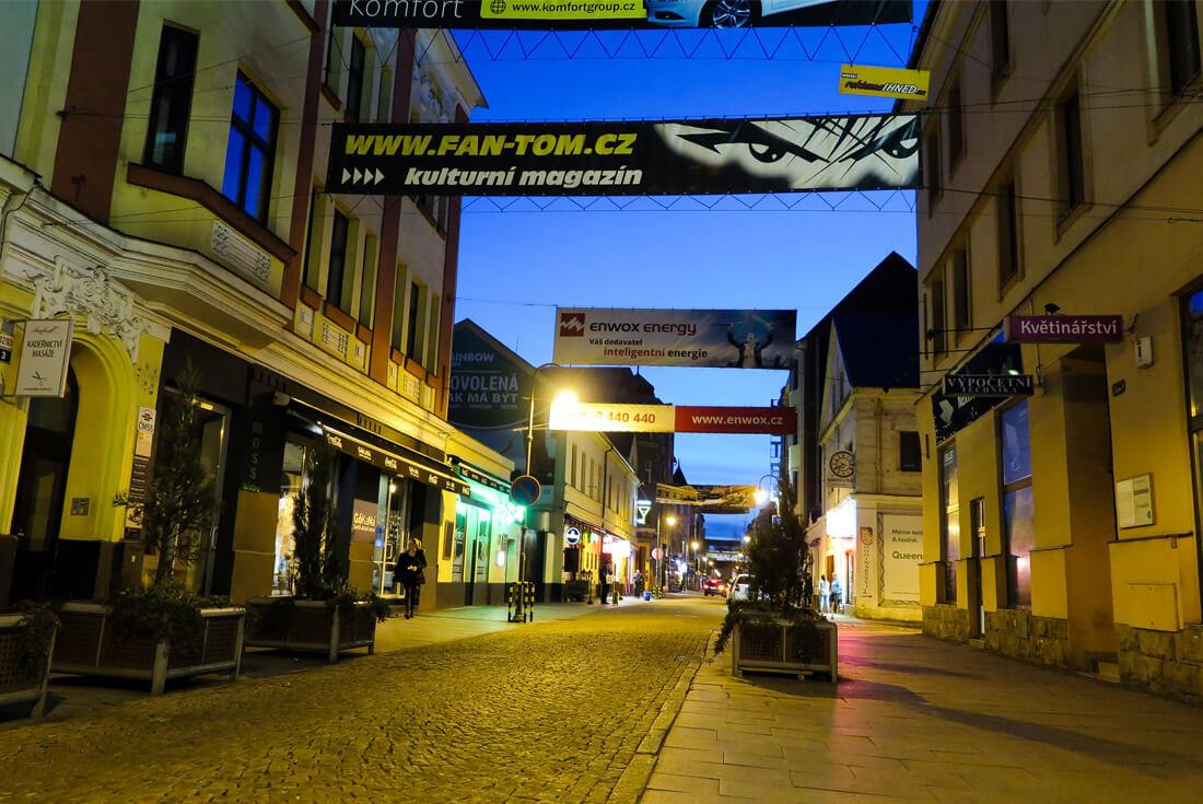 Stodolni Street Ostrava