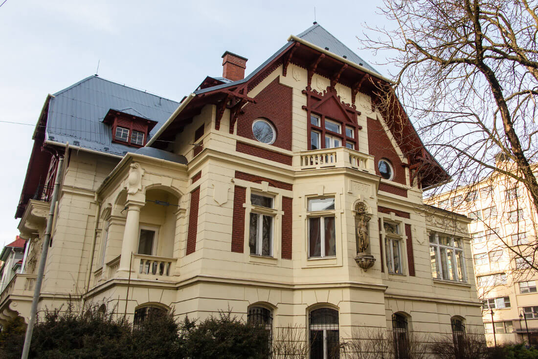 A villa in Ostrava Czech Republic