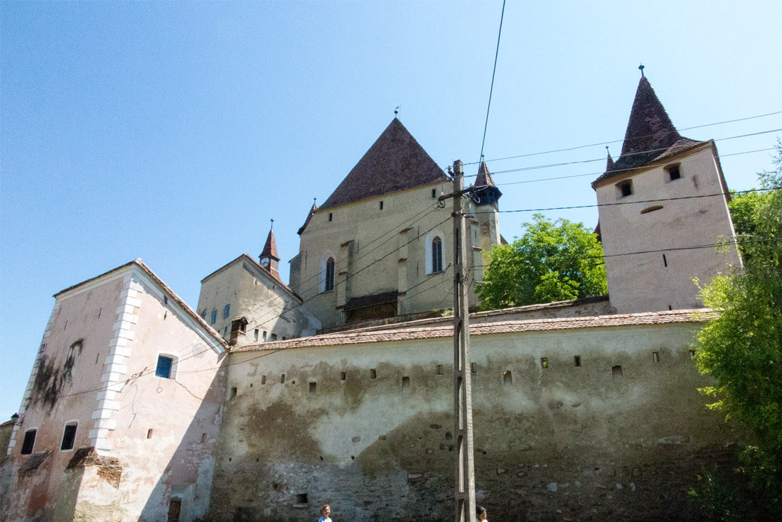 Biertan fortified church, Transylvania