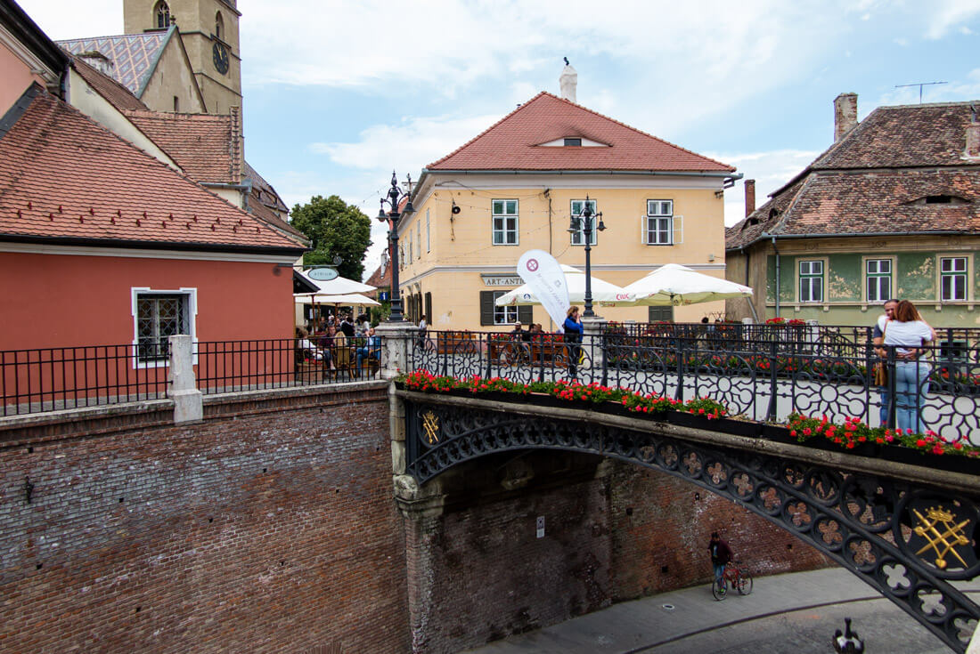 Liars' Bridge in Sibiu