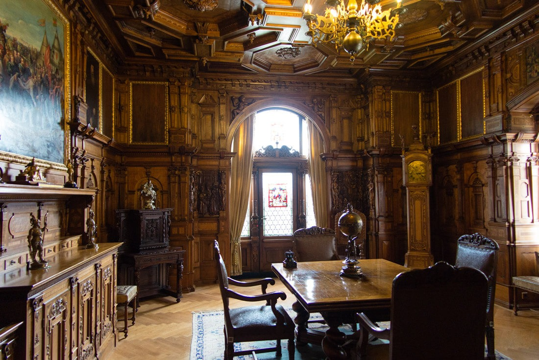 Inside Peles Castle, Romania