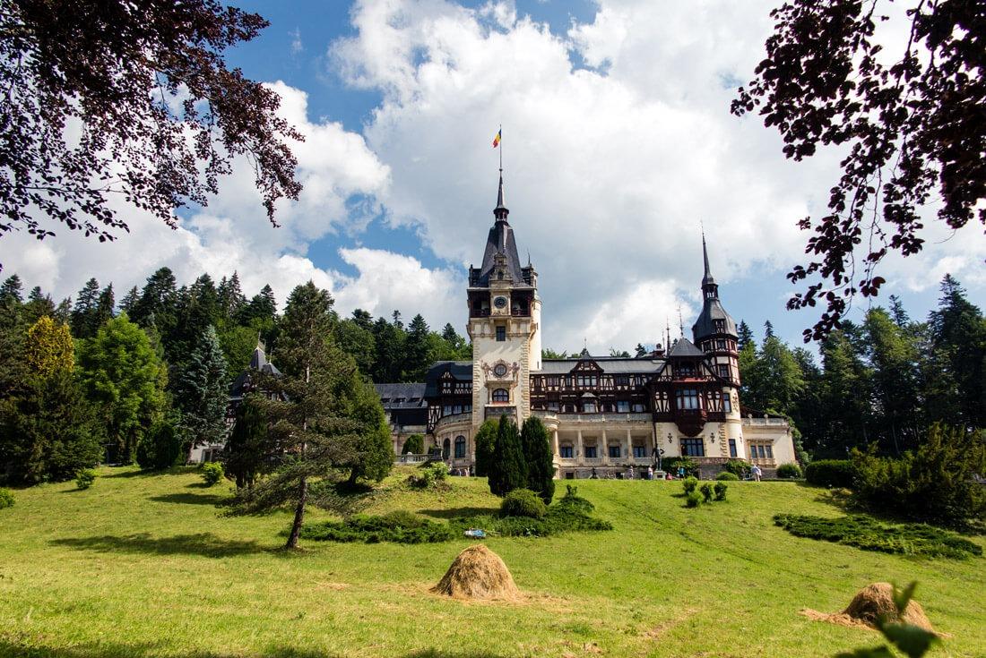Peles Castle in Transylvania