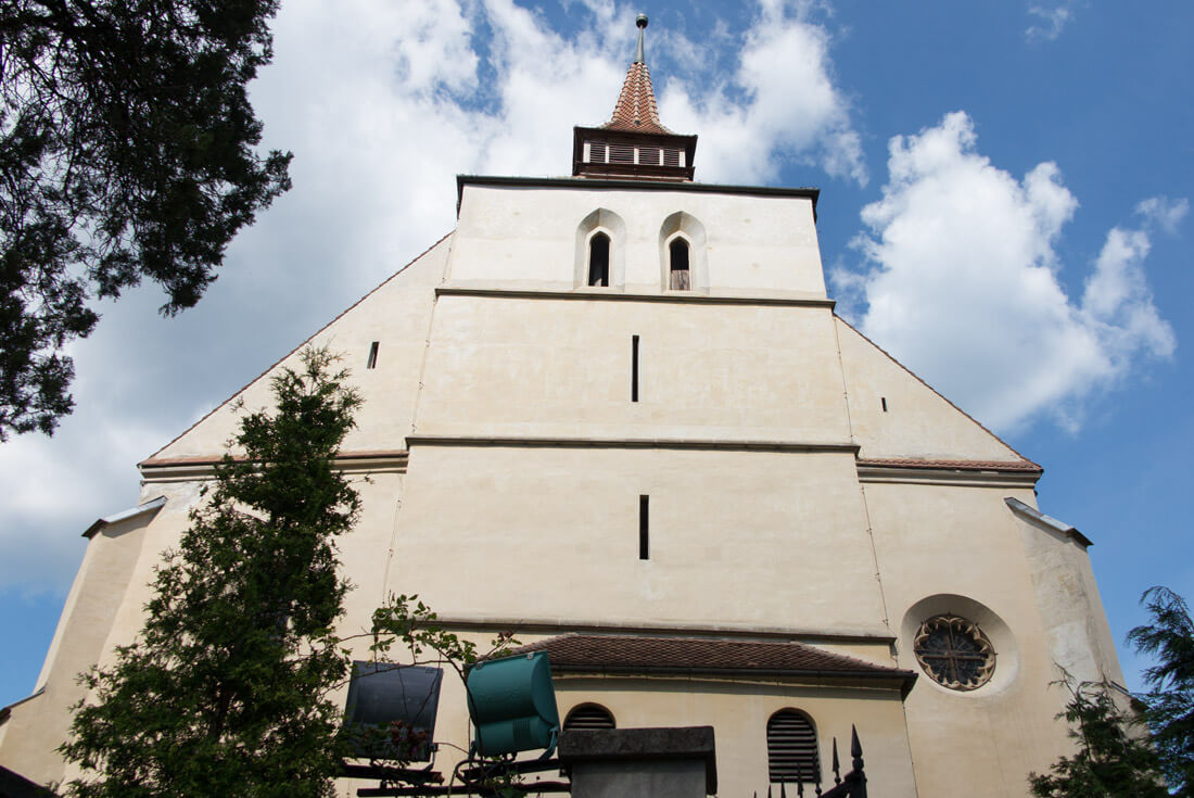 The Church on the Hill in Sighisoara, Transylvania
