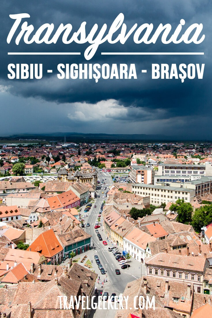 Sibiu, and 2 other cities that characterize Transylvania: Sighisoara and Brasov. The region is incredibly rich in culture and history and you'll be able to learn enough about it just by visiting these three cities. Plenty of day trips included (yes, Dracula Castle too)! #transylvania #romania