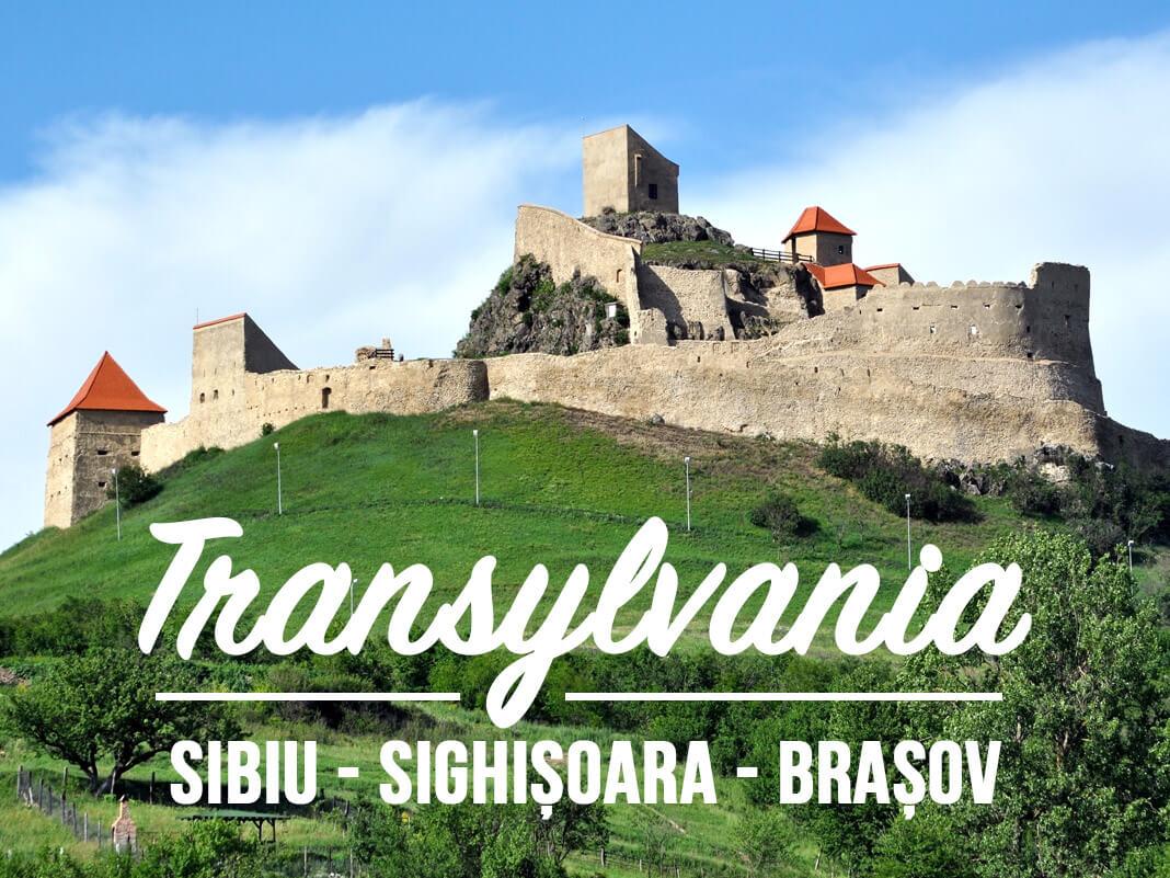 The main cities and their surroundings in Transylvania: Sibiu, Sighisoara, Brasov