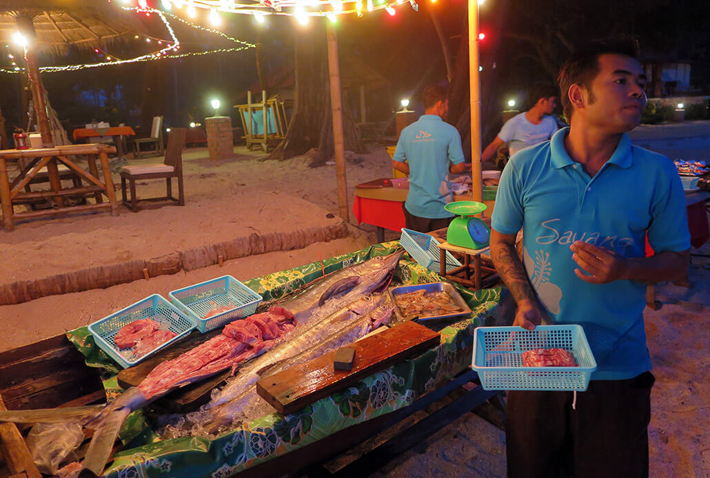 Fresh catch, Koh Lanta, Thailand