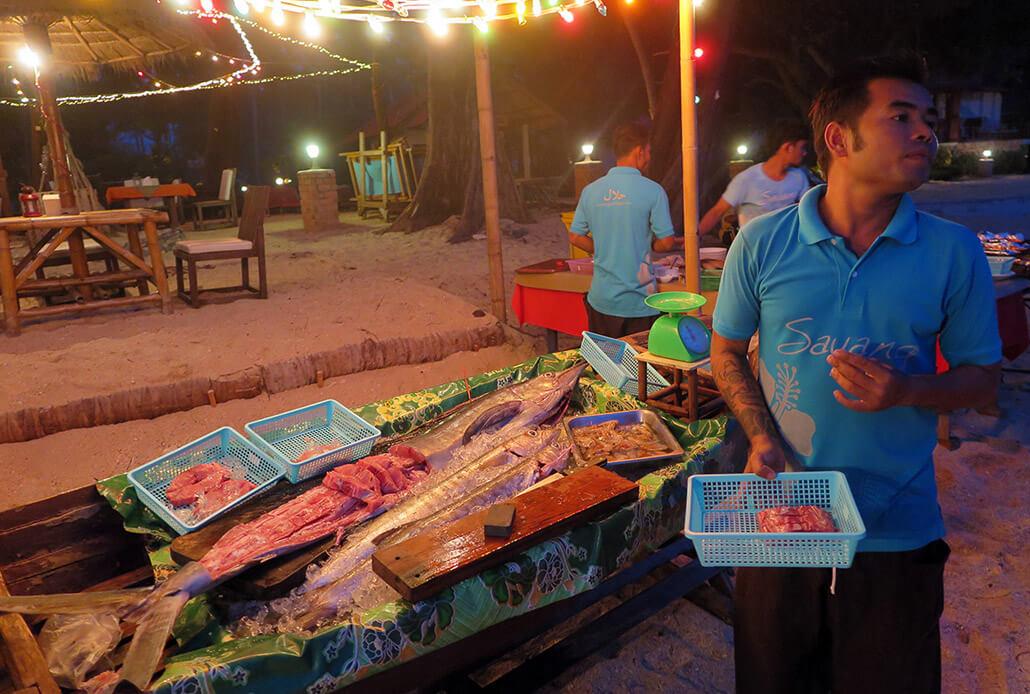 Fresh catch, Koh Lanta, Thailand