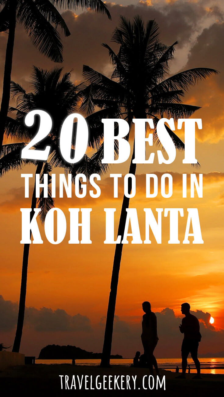 Ko Lanta in Thailand is a beautiful laid back island with plenty of things to do, other than lying on the beach and eating delicious street food. Learn about the best things to do in Koh Lanta and get excited about visiting this charming corner of Thailand yourself!