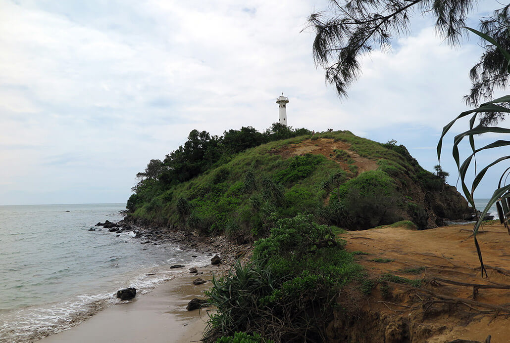 Lighthouse in the National Park, Koh Lanta, Thailand