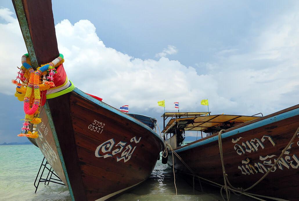 Long tail boats