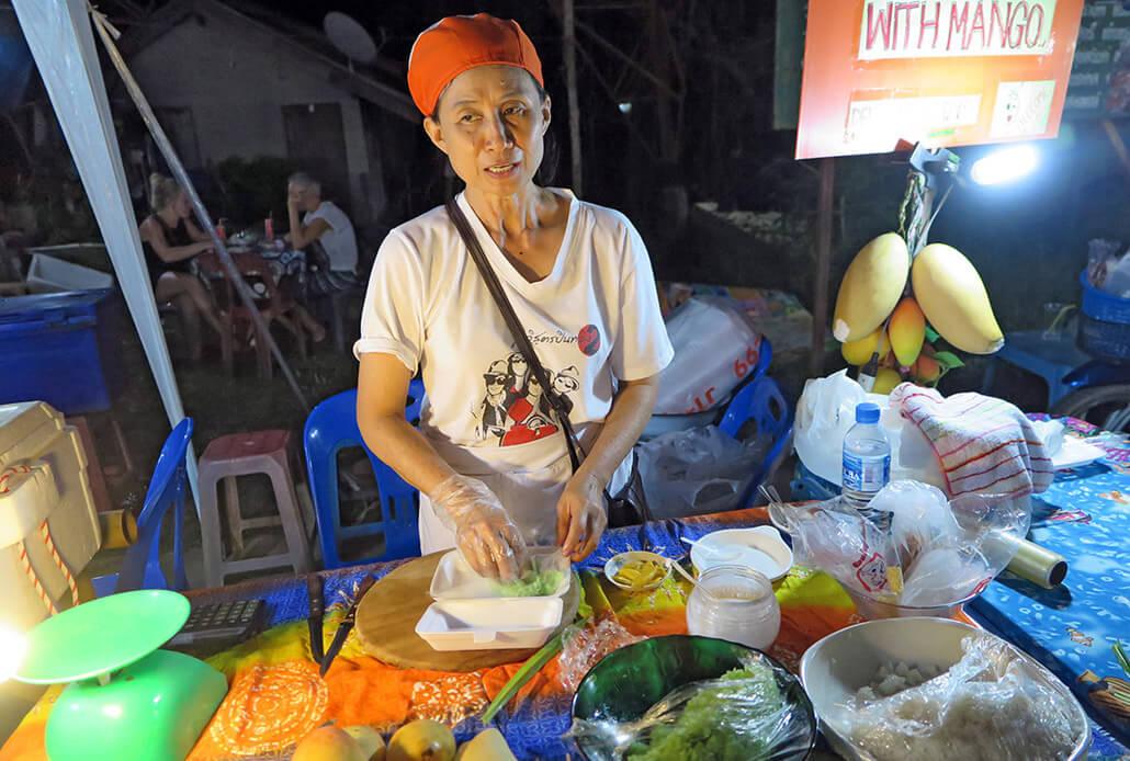 What to do in Koh Lanta: Eat eat eat!