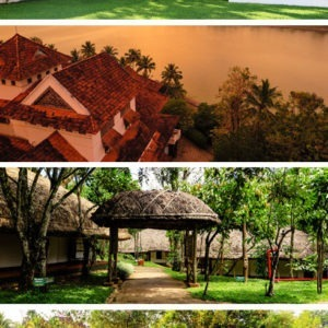 5 Best hotels in Kerala, India - based on my personal experience. The hotels I enjoyed staying at most are the Brunton Boatyard in Kochi, Raviz Hotel in Kollam, the Spice Village in Thekkady, Zuri Hotel in Kumarakom and Vythiri Village. See why I liked these particular Kerala hotels so much! #kerala #india #hotels #accommodation