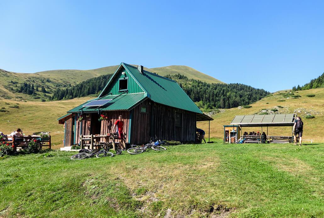 Damjanovica Kolibe in Bjelasica Mountains near Biogradsko Jezero NP Montenegro