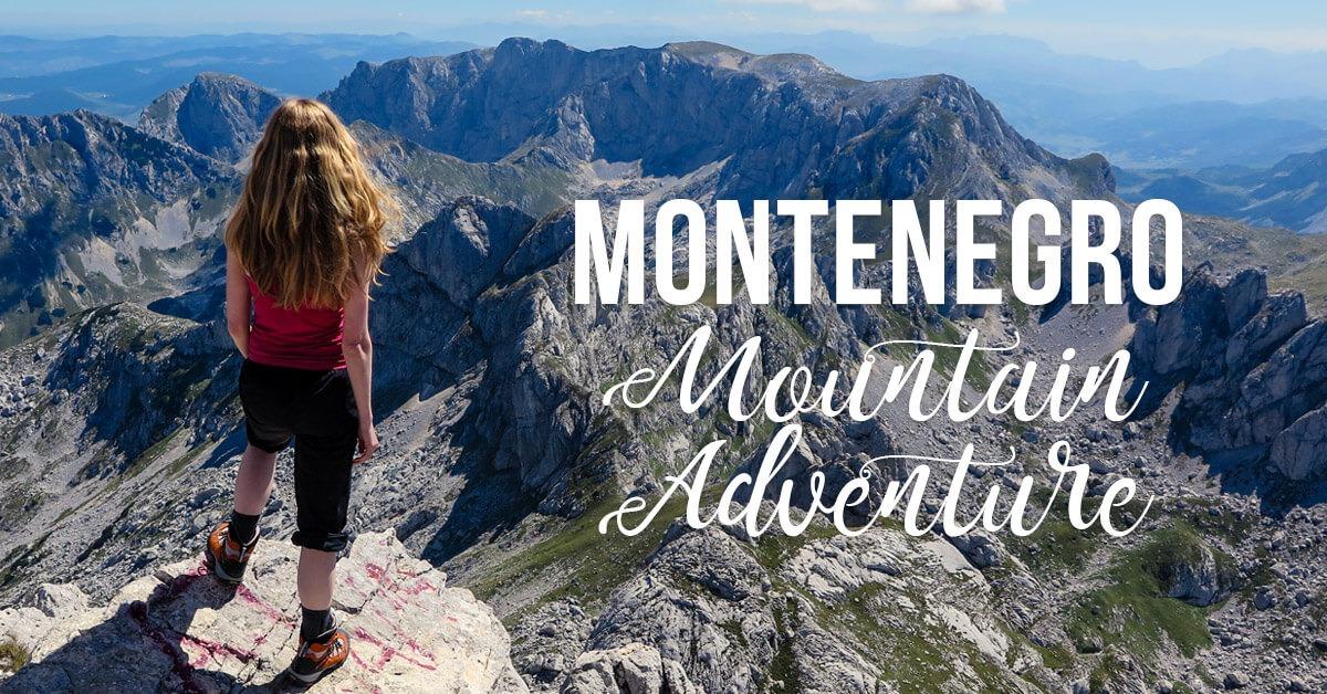 Hiking Adventures - Magazine cover