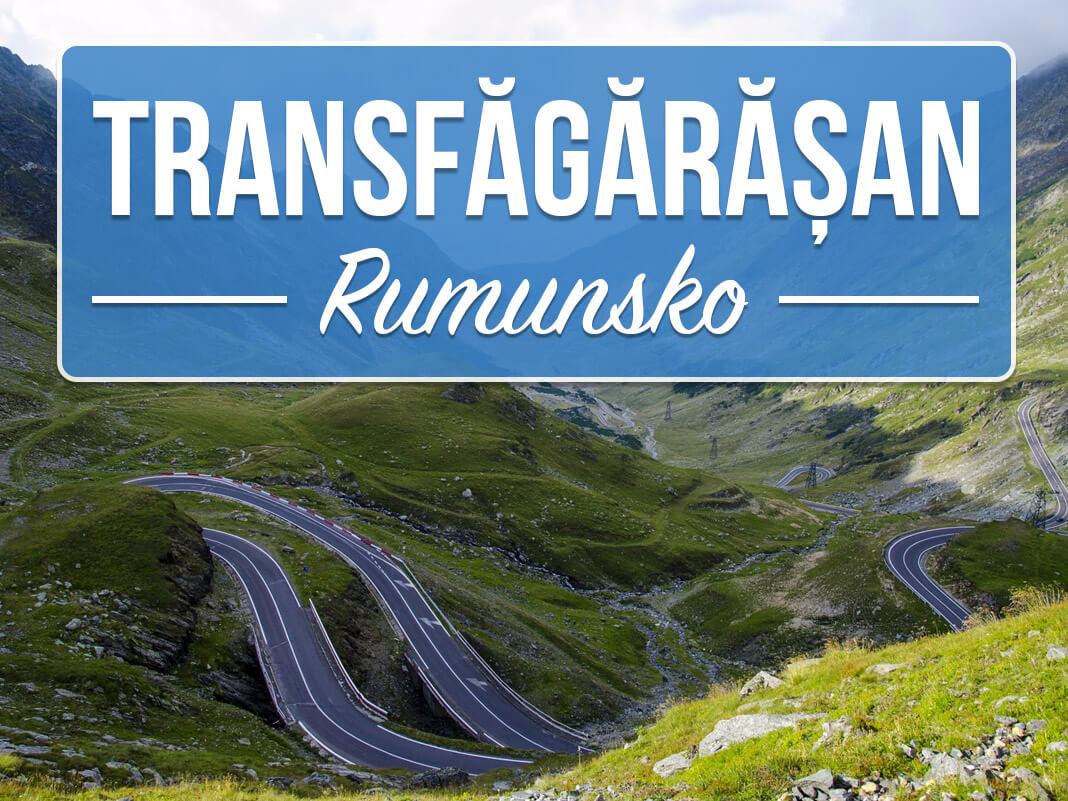 Silnice Transfagarasan - nejkrásnější výhledy v Rumunsku