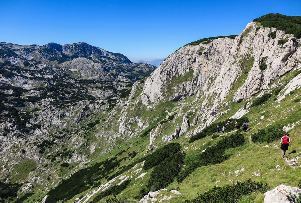 Hiking Durmitor Mountains National Park Montenegro