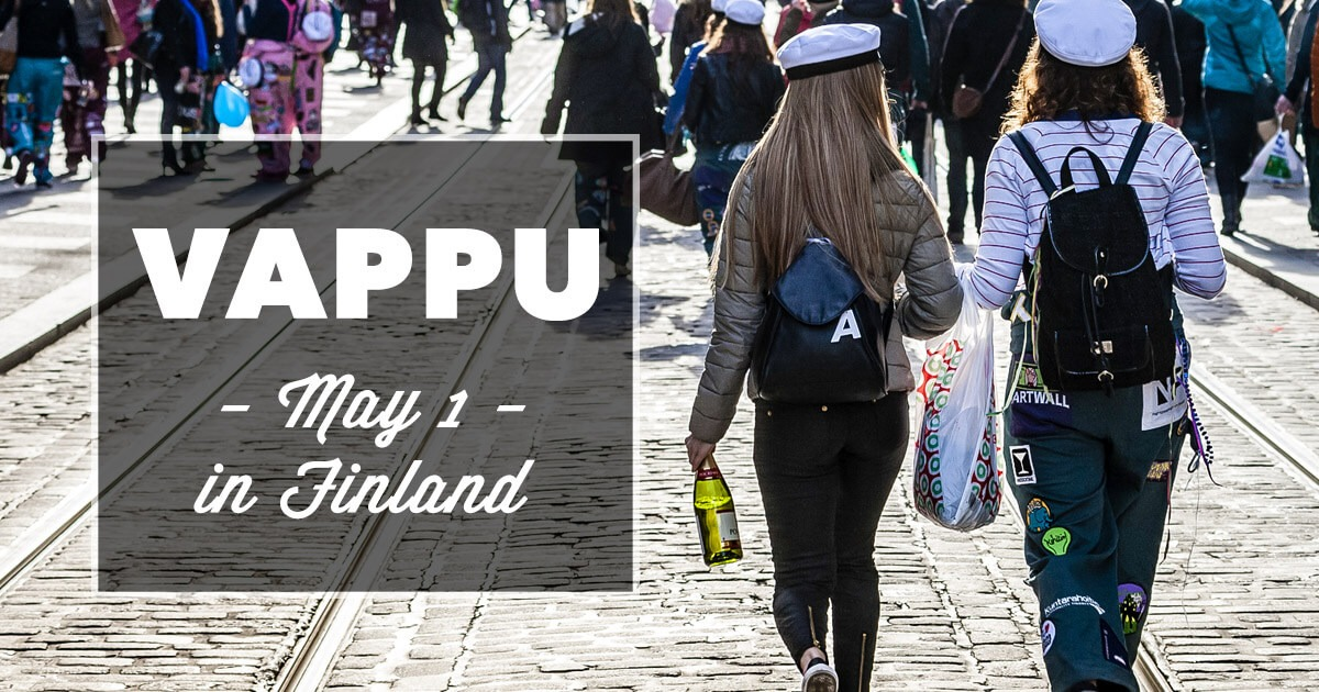 May 1st Vappu Celebration in Finland (It Gets Wild)