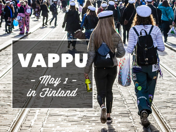 Celebrating May 1st - Vappu - in Finland with locals