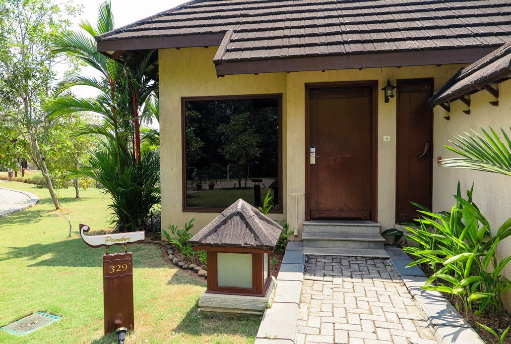 Zuri hotel rooms exterior in Kerala, India