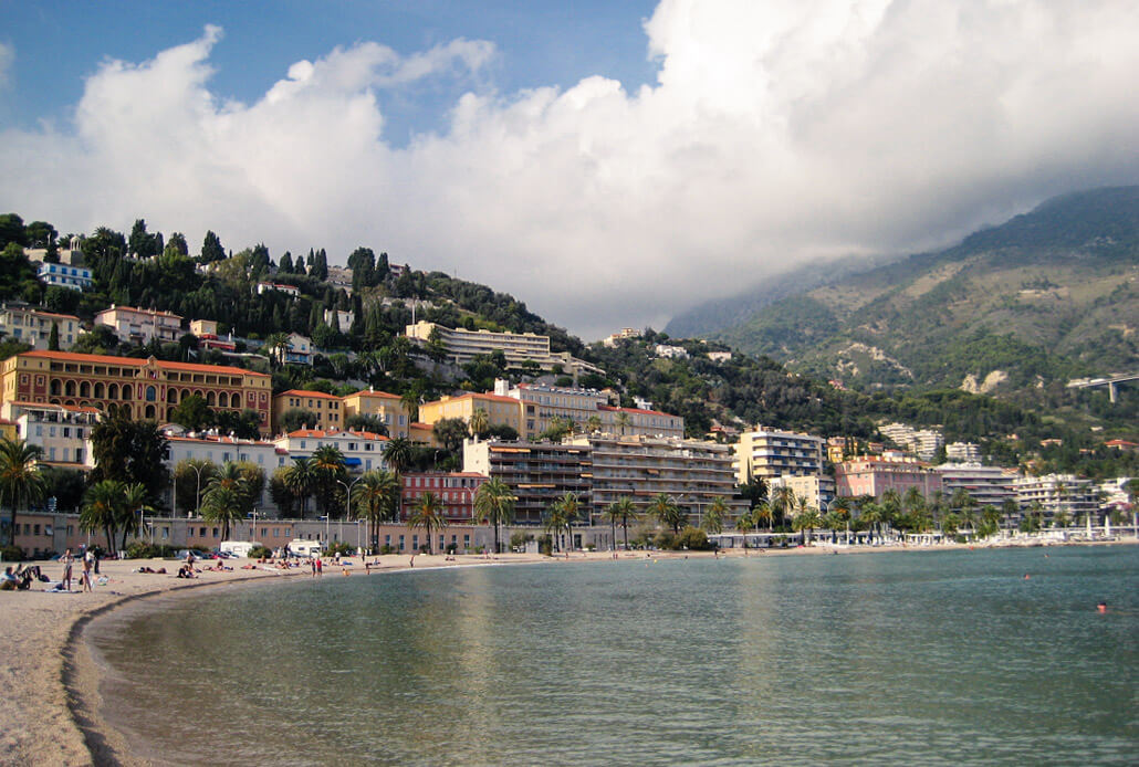 Menton Beach - one of the best day trips Nice France