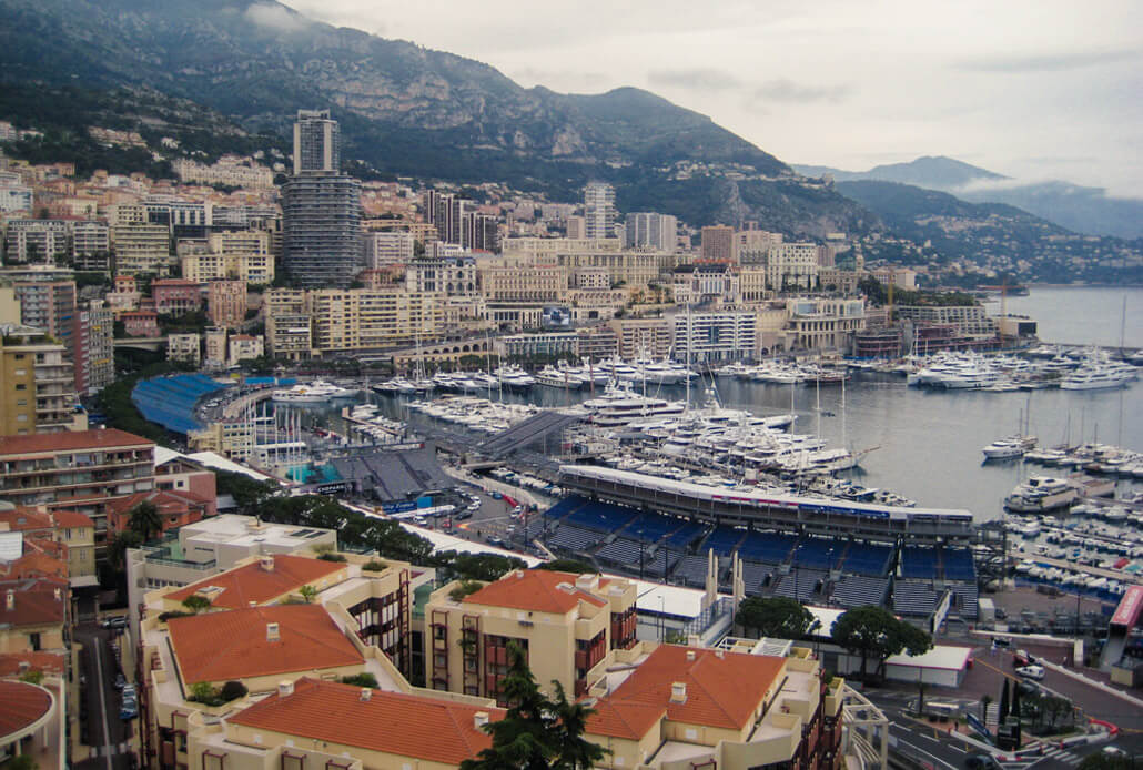Monaco Bay in Monte Carlo - one of great day trips Nice