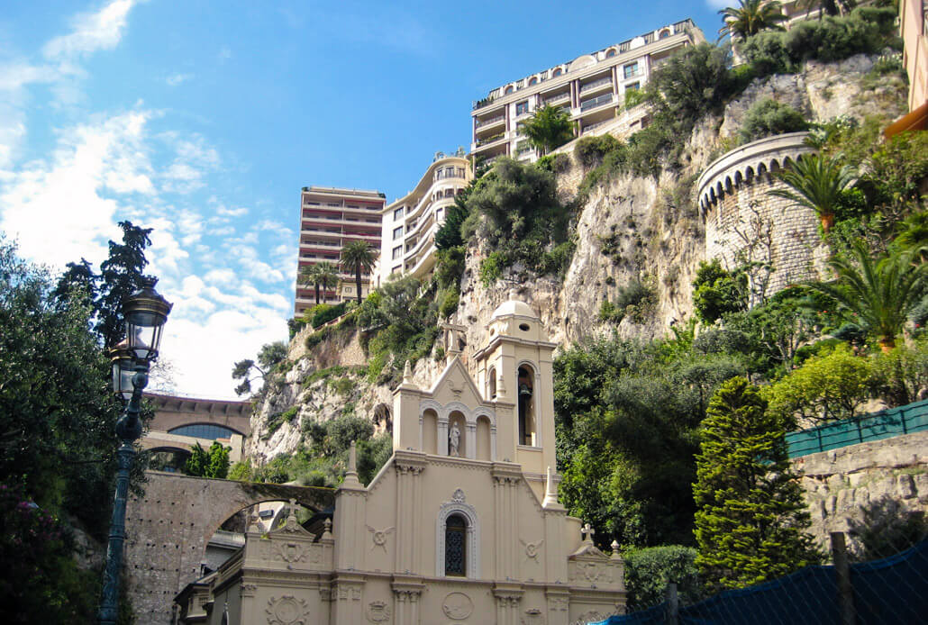 Sainte Devote Church Monaco