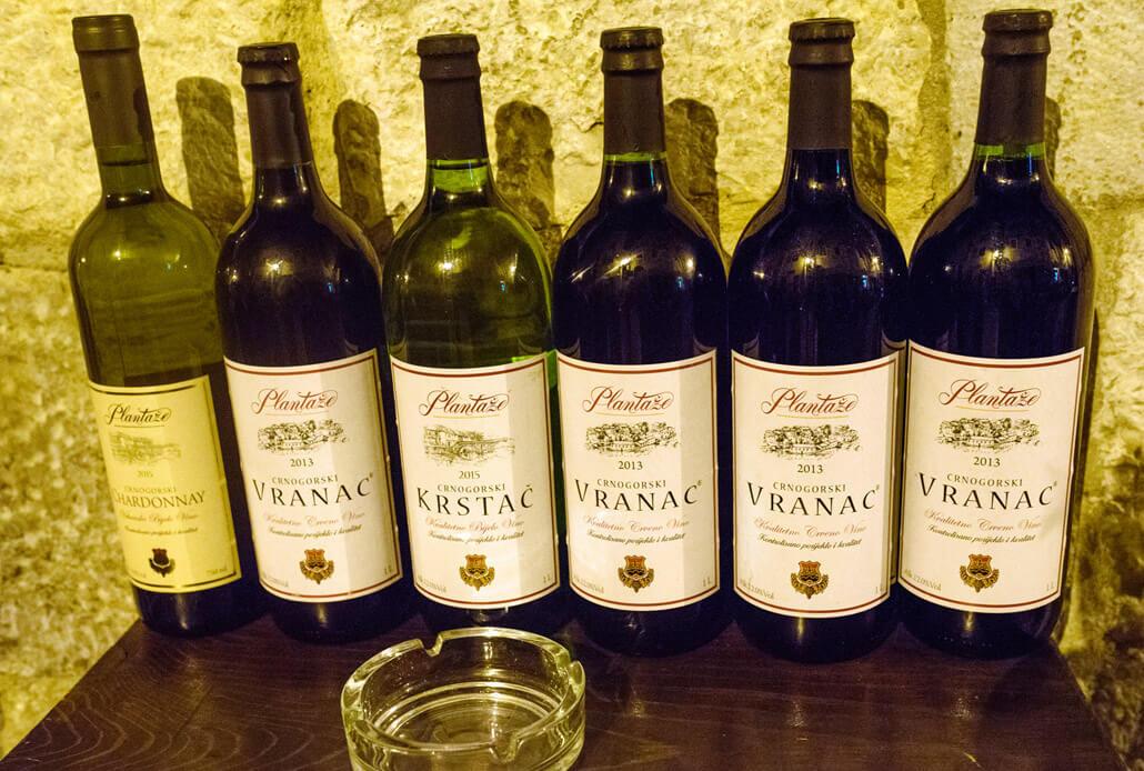 Montenegro's legendary wines: Vranac & Krstac