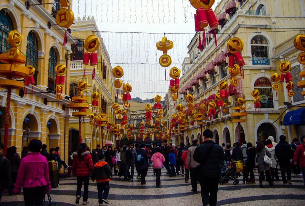 Senado Square in Macau Things to Do