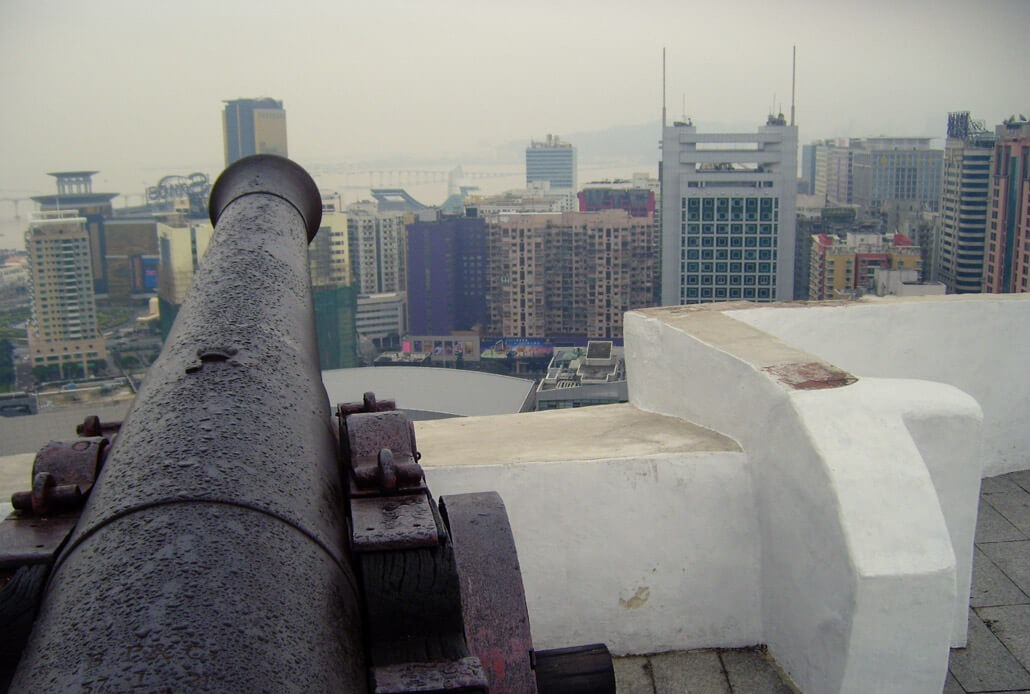 View from the Guia Fortress Macau