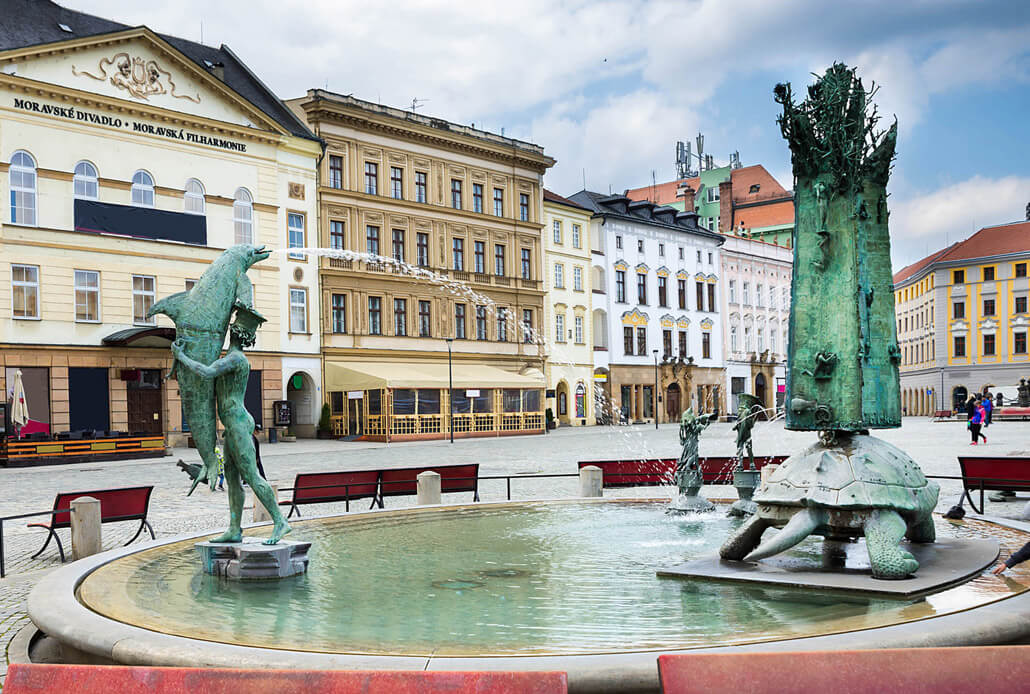 Arion Fountain Olomouc