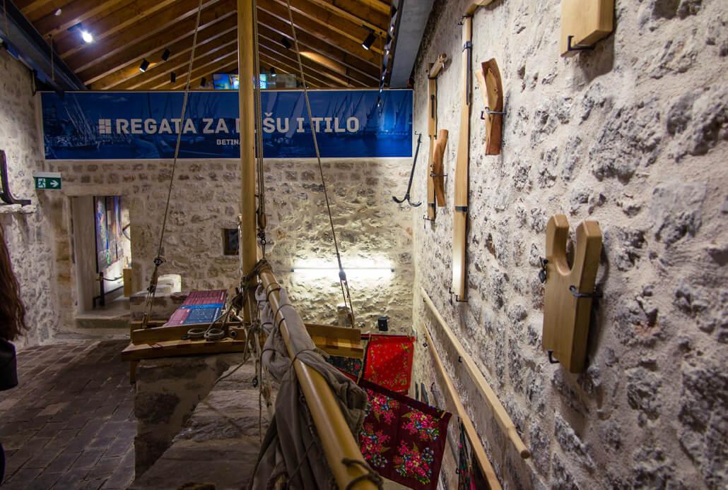 Inside Betina Shipbuilding Museum