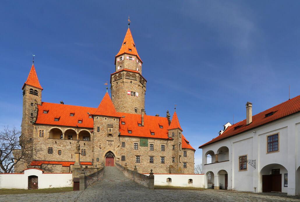 Bouzov Castle near Olomouc