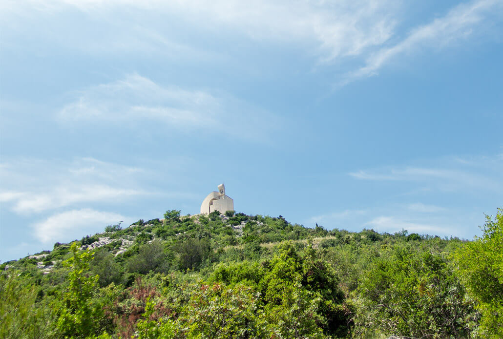 Church of Our Lady of Carmel near Vodice Croatia
