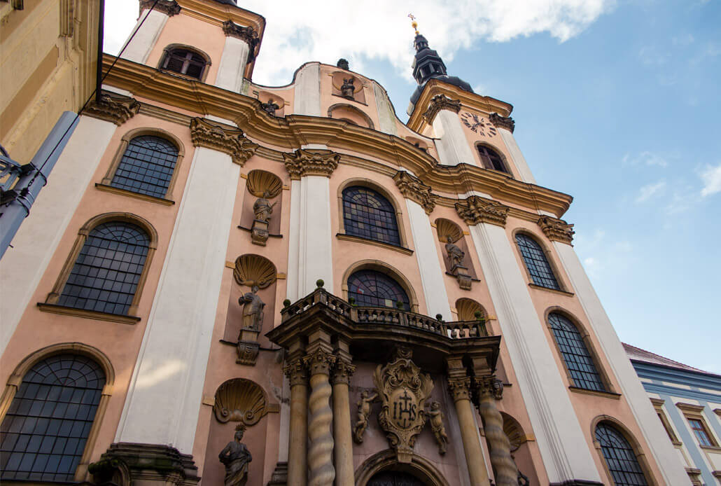 Church of the Virgin Mary of the Snows Olomouc