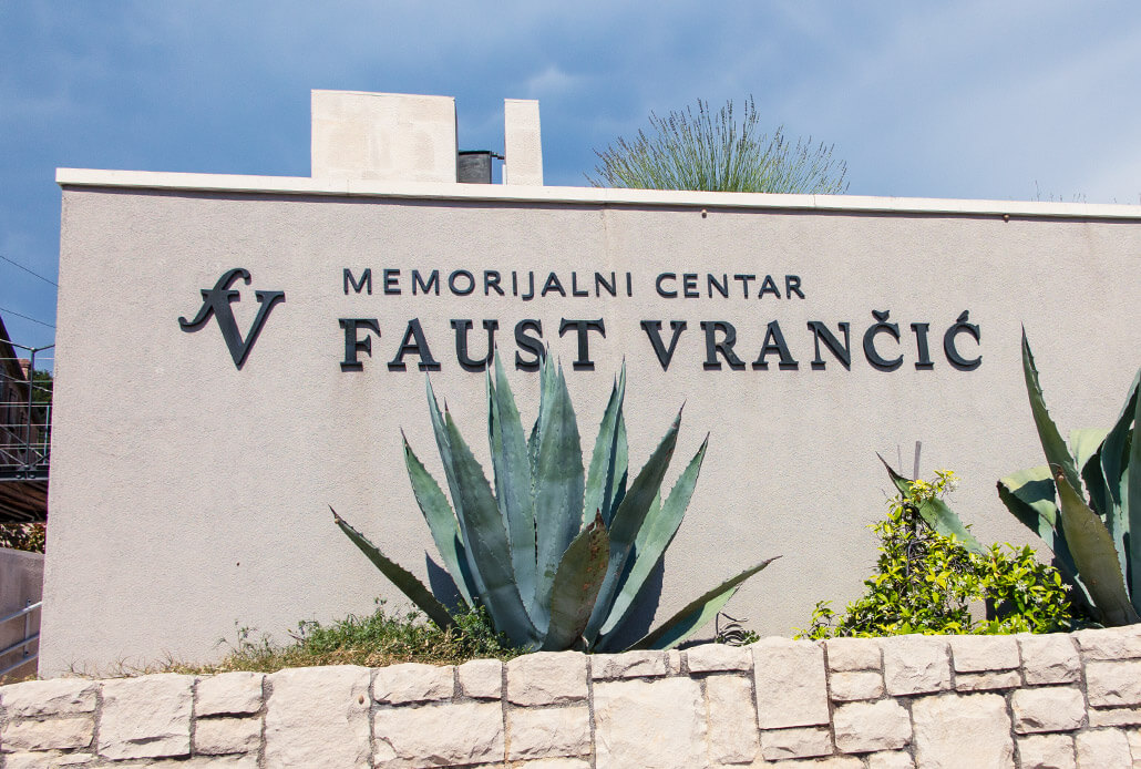 Memorial Center of Faust Vrancic in Prvic Luka