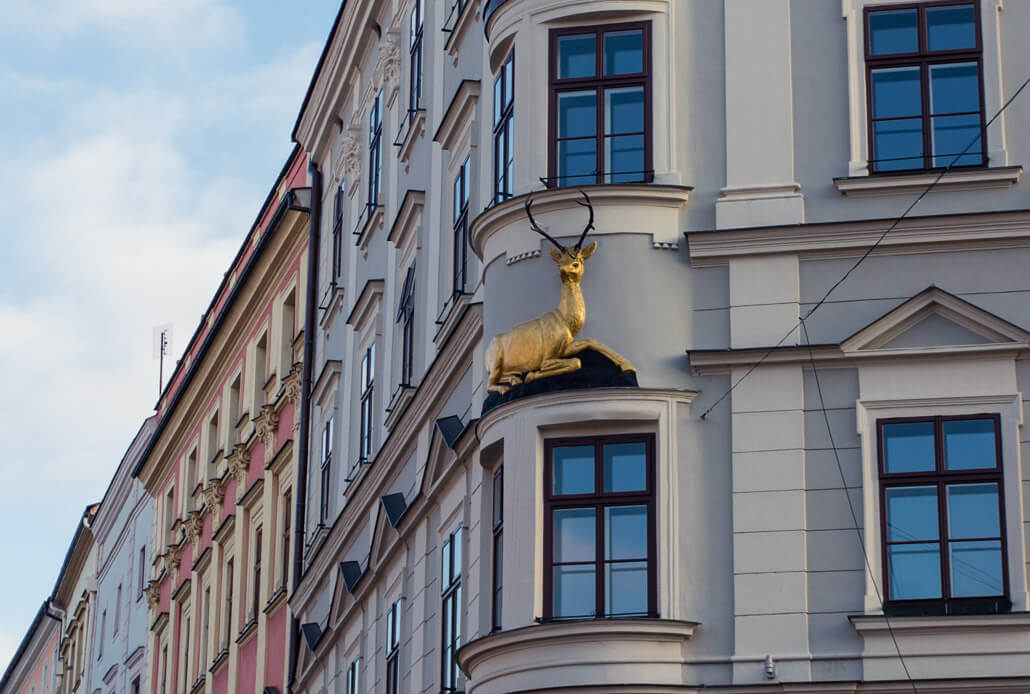 Golden Deer House on the Lower Square