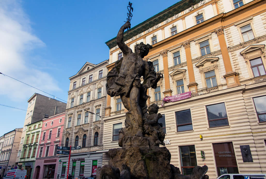 Mercury's Fountain Olomouc