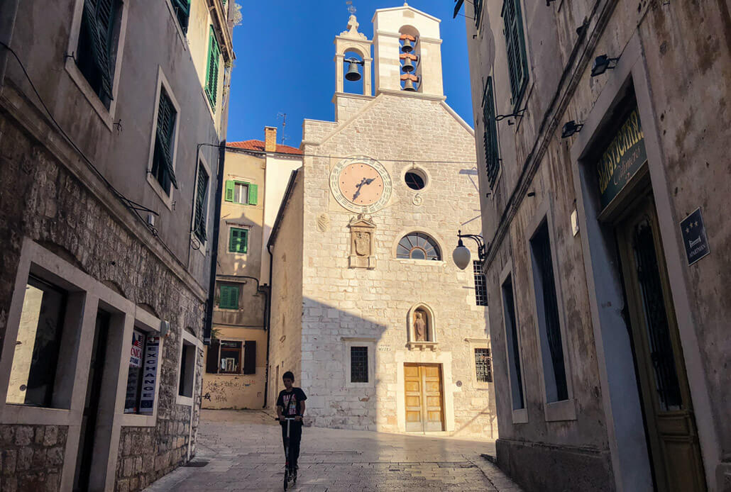 Church of Saint Barbara Sibenik Croatia