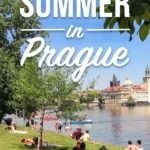 """Prague in summer can feel a bit too crowded if you stick to Old Town only. But let me show you what we locals do in the summer in Prague! The parks we go to, the festivals, the beer gardens, summer activities.. Check out this """"no BS"""" guide to Prague in summer written by me, a Czech :) #prague #czechrepublic #czechia #summer #localtips"""