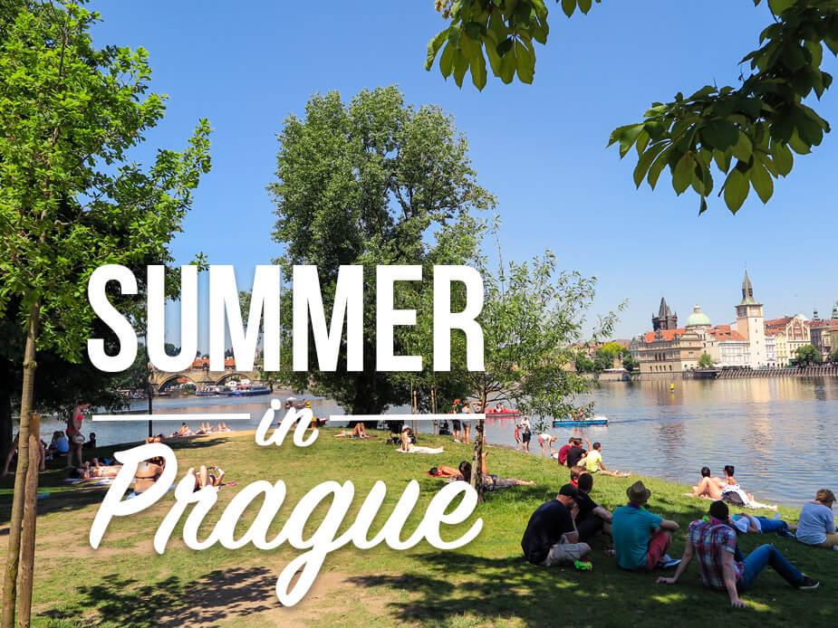 How locals spend summer in Prague